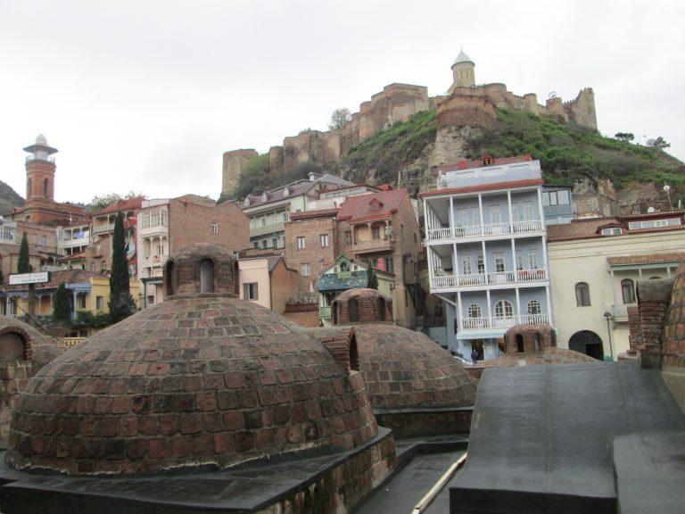 Abanotubani es el barrio de los baños termales
