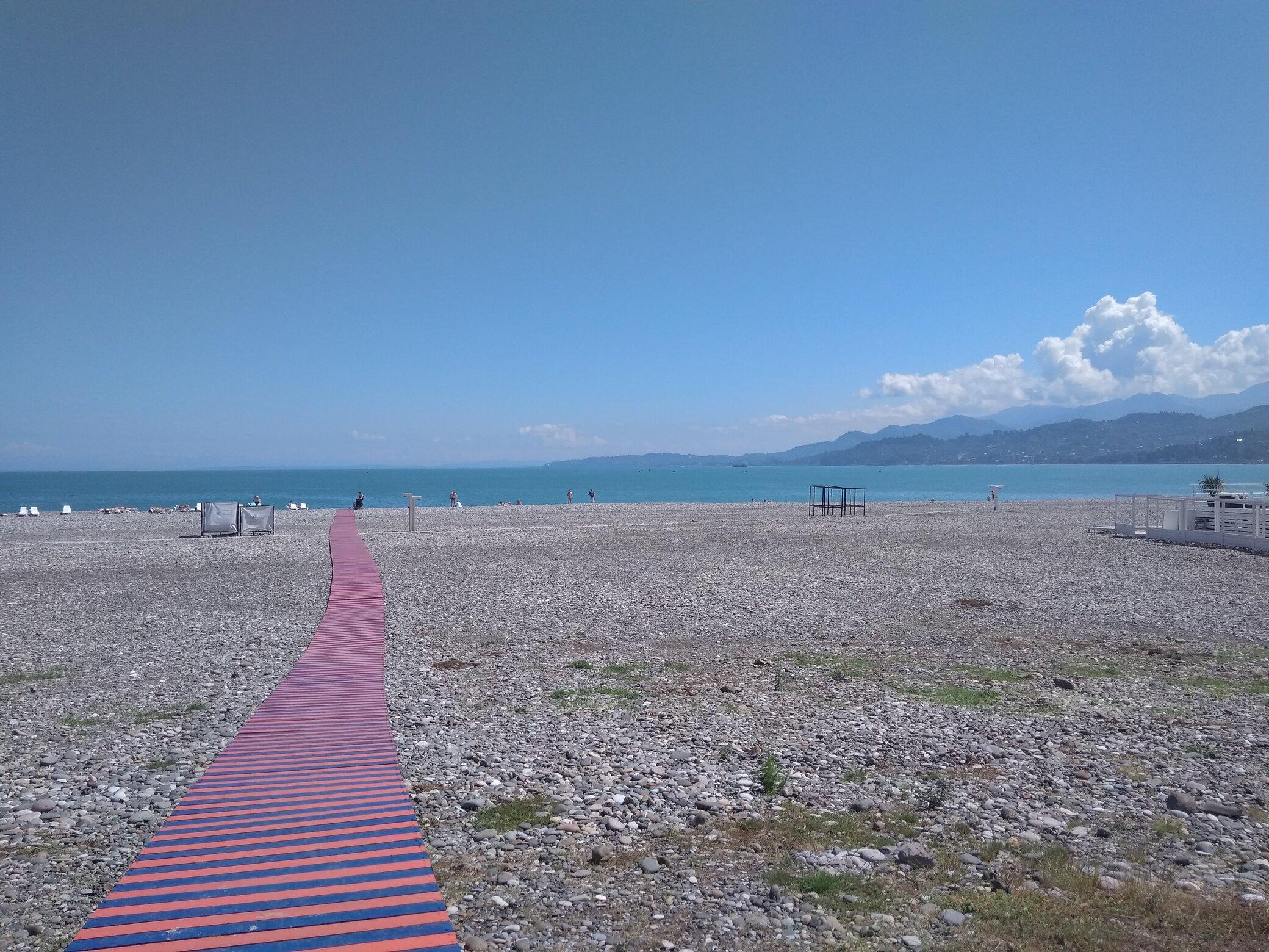 Batumi playa