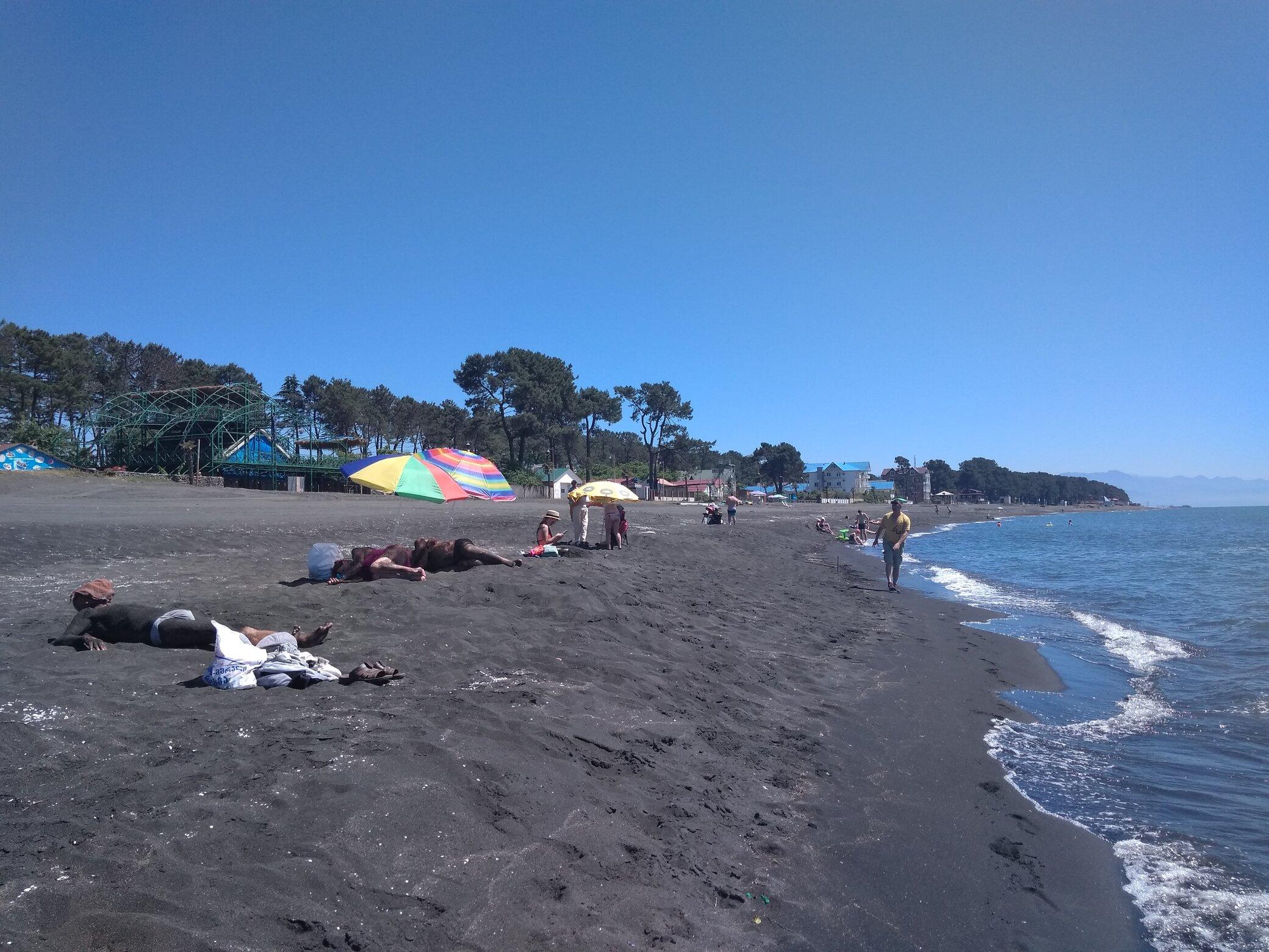 Magnetiti playa Ureki